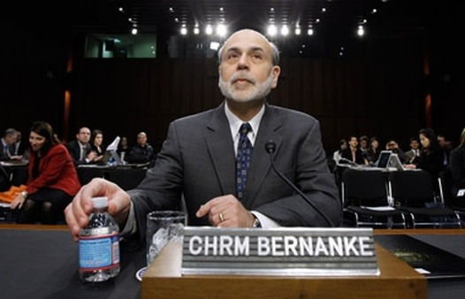 Ben Bernanke at Senate hearing earlier this year. (Photo: AP)