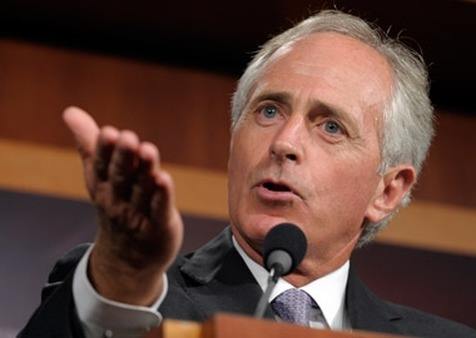 Sen. Bob Corker, seen here on July 21 in Washington, is optimistic a debt deal will get done. (Photo: AP)