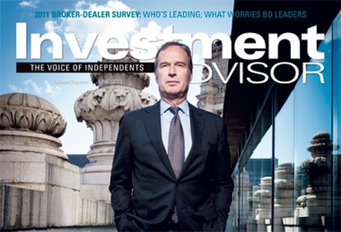 Chairman Jud Bergman on Investment Advisor's cover in June.