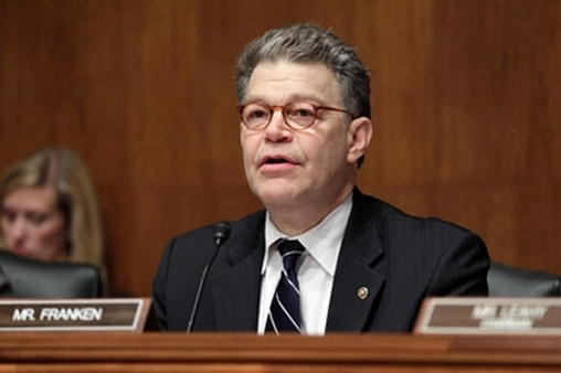 Sen. Al Franken at a hearing this year.  (Photo: AP)
