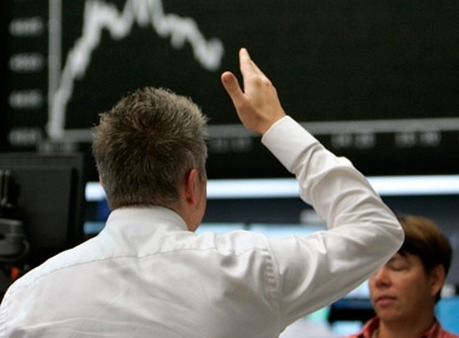A broker in Germany reacting to the market. (Photo: AP)