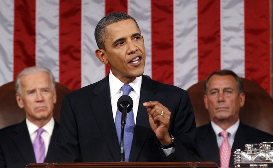President Obama addressing Congress Thursday night. (Photo: AP)