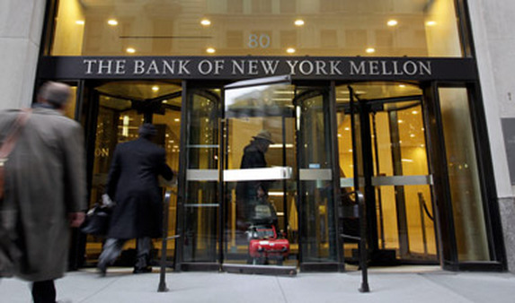 BNY Mellon building in New York. (Photo: AP)