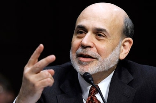 Fed Chief Ben Bernanke sympathizes with protestors. (Photo: AP)
