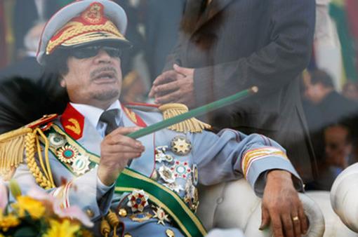Former Libyan dictator, Col. Moammar Gadhafi. (Photo: AP)
