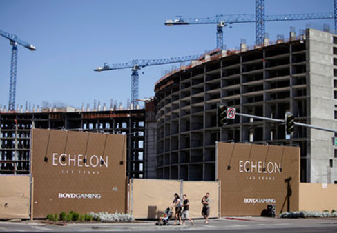 A building under construction in Las Vegas. (Photo: AP)