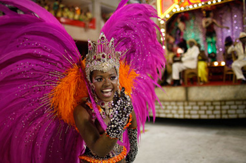Brazilians have another reason to be happy during Carnival. (Photo: AP)