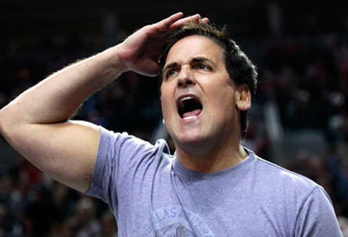 Mark Cuban, owner of the Dallas Mavericks, disparaged buy and hold. (Photo: AP)