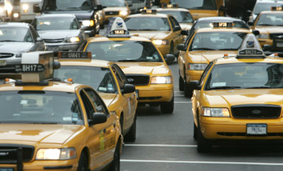 Taxis in New York. (Photo: AP)