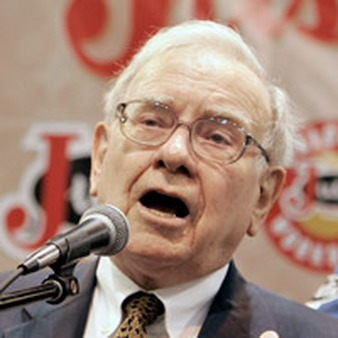 Warren Buffett sees opportunities for investing in Japanese companies. (AP photo)