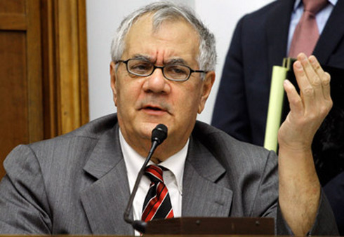 Barney Frank, 71, said he's ending his run in Congress. (Photo: AP)