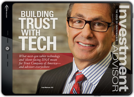 Frank Maioriano on Investment Advisor's October 2011 cover.