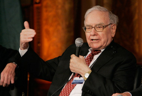 Warren Buffett, the Oracle of Omaha, speaks. (Photo: AP)