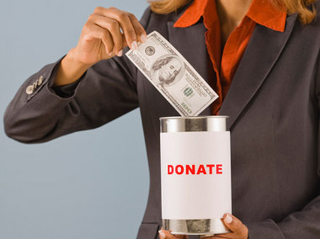 Those looking to donate money can find information about charities by using certain web tools.