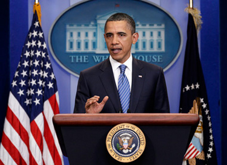 President Barack Obama urged the House to approve the payroll tax cut extension. (Photo: AP)