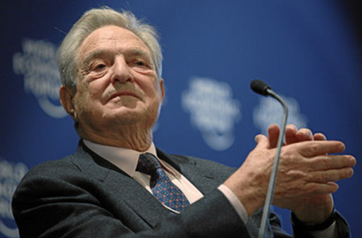 George Soros sees trouble ahead for gold.