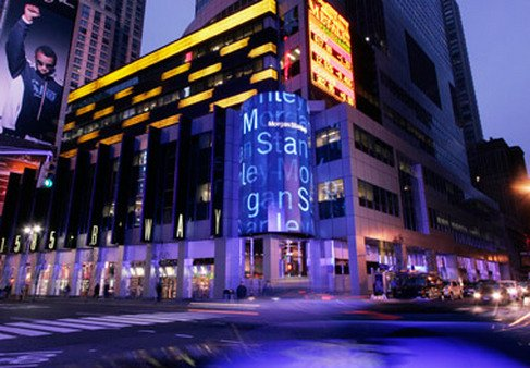 Morgan Stanley headquarters in Times Square. (Photo: AP)