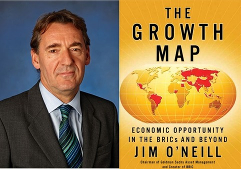 'The Growth Map,' a new book from Goldman Sachs' Jim O'Neill, describes how he originated the BRIC acronym.