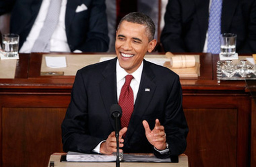 President Barack Obama delivering the State of the Union address on Tuesday night. (Photo: AP)