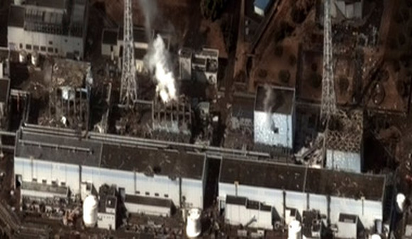 The earthquake and tsunami that devastated Japan's Fukushima nuclear power plant has contributed to a trade deficit. (Photo: AP)
