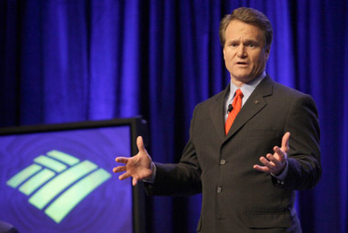 Brian Moynihan, CEO of Bank of America, says pay discussions with employees are 'open and honest.' (Photo: AP)