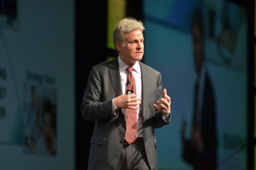 TD Ameritrade President Tom Bradley on Thursday speaking at the company's conference in Orlando.