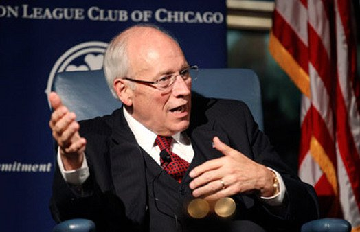 Dick Cheney in Chicago promoting his book in September. (Photo: AP)