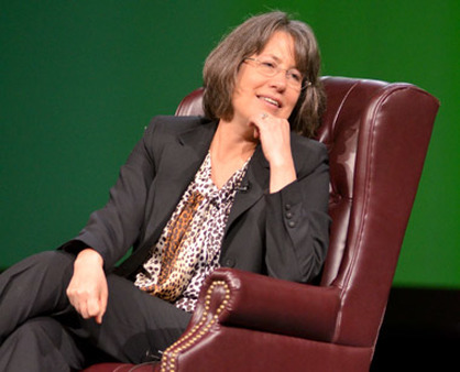 Shelia Bair speaking at the Orlando conference on Thursday.
