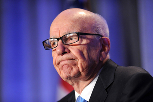 Find out why Rubert Murdoch's News Corp. entered the bottom of the poll for the first time. (Photo: AP)