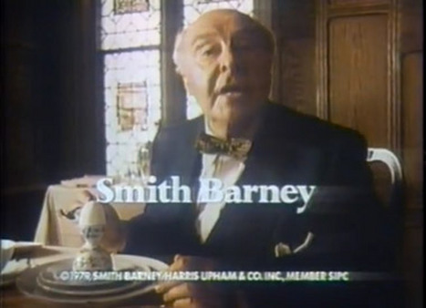 John Houseman in 1979 from the famous Smith Barney ad campaign.