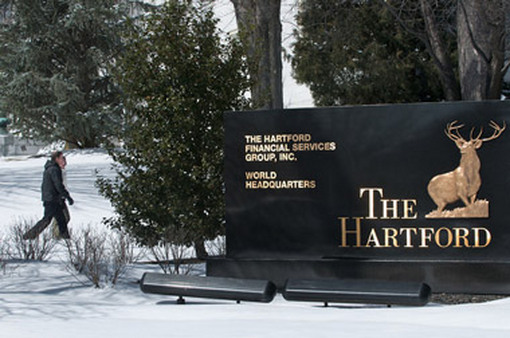 Outside The Hartford's headquarters in Connecticut. (Photo: Bloomberg)