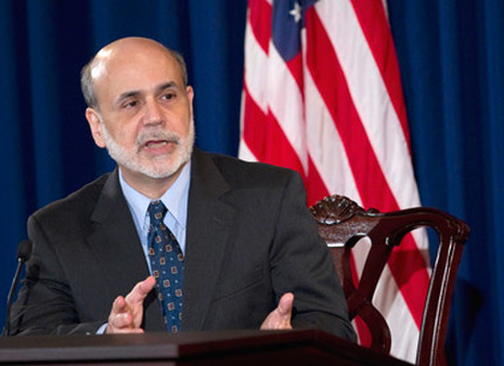 Ben Bernanke after a FOMC meeting last year. (Photo: AP)