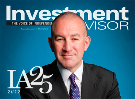 The May 2012 issue of Investment Advisor features our list of the 25 most influent