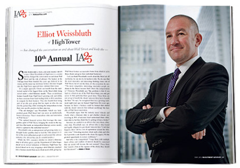 The IA 25 is our list of the 25 most influential people in the advisor and financial services industries.