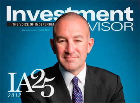 The May 2012 issue of Investment Advisor features our list of the 25 most influential people in the advisor and financial services industries.