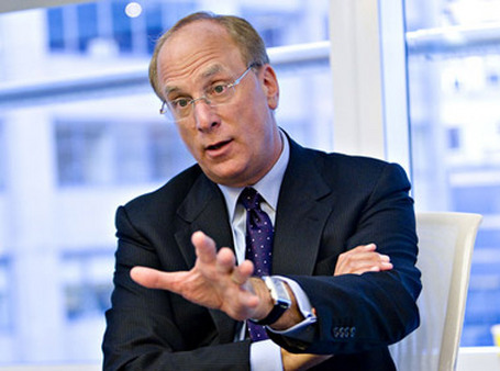 BlackRock CEO Larry Fink recommended a 100% allocation to equities. (Photo: AP)