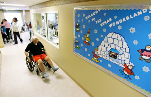 An injury requiring rehab can result in a pricey nursing home stay. (Photo: AP)