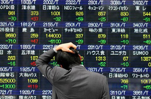 A stock board in Tokyo. (Photo: AP)