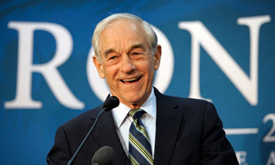 Ron Paul (above) and Paul Krugman faced off on TV. (Photo: AP)