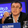 Gloomy Roubini Takes On Upbeat Milken at Global Economy Forum