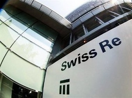 The Swiss Re headquarters in Zurich. (Photo: AP)