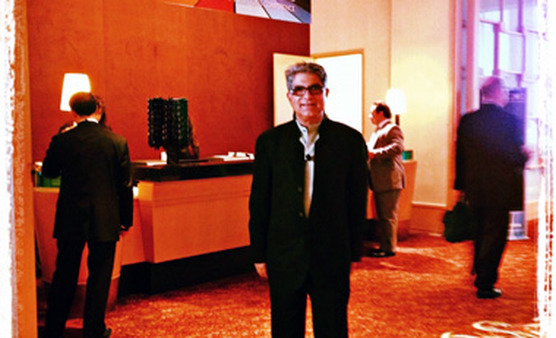 'People who feel self-power are immune to criticism,' says Deepak Chopra, pictured here at Pershing Insite 2012.