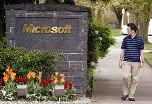 Microsoft is one of the Jensen Quality Growth Fund's holdings. (Photo: AP)