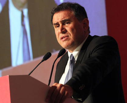 Nouriel Roubini at the Nomura Asia Equity Forum in 2011. (Photo: AP)