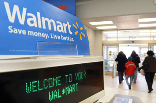 Walmart donated the most cash in 2011. (Photo: AP)