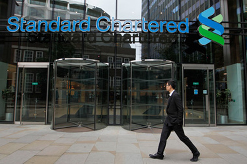 Standard Chartered headquarters in London. (Photo: AP)