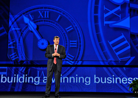 Bill Dwyer, LPL's president of national sales, at the BD's national conference.