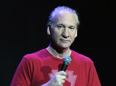Bill Maher at Hard Rock Live on Sunday. (Photo: AP)