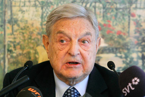George Soros at Davos. (Photo: AP)