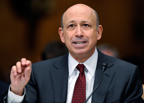 Goldman CEO Lloyd Blankfein. (Photo: AP)